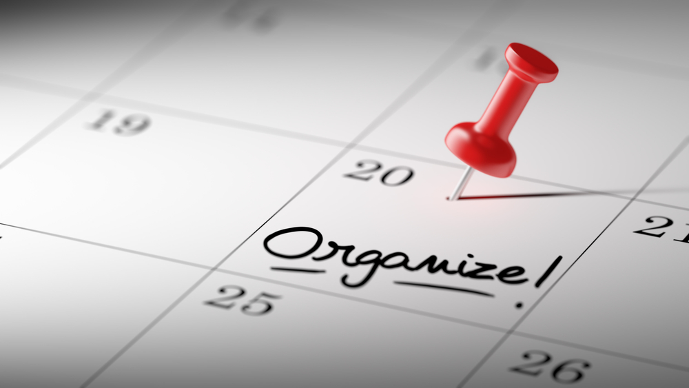 Getting started as an Organiser